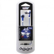 Внутриканальные наушники SmartBuy® TOXIC, синие (SBE-2720)
