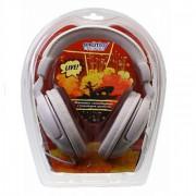 Полноразмерные наушники SmartBuy® LIVE!, 4м кабель, 50мм динамики, белые (SBE-7100)
