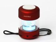 Портативная колонка SmartBuy® CANDY PUNK, MP3-плеер, FM-радио, 2.2 Вт, красная (SBS-1020)