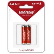 Батарейка алкалиновая Smartbuy LR03/2B (2 в комплекте)(24/240)  (SBBA-3A02B)