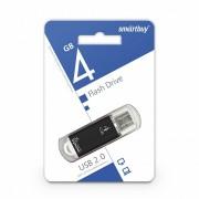 USB  4GB SmartBuy V-Cut Series (SB4GBVC-K), черный