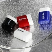 USB  8GB SmartBuy LARA series (SB8GBLara-R), красный