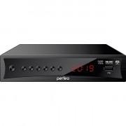 "Perfeo DVB-T2/C приставка ""CONSUL"" для цифр.TV, Wi-Fi, IPTV, HDMI, 2 USB, DolbyDigital, пульт ДУ"