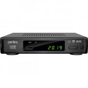 "Perfeo DVB-T2/C приставка ""LEADER"" для цифр.TV, Wi-Fi, IPTV, HDMI, 2 USB, DolbyDigital, пульт ДУ"