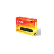 "Perfeo DVB-T2/C приставка ""STREAM"" для цифр.TV, Wi-Fi, IPTV, HDMI, 2 USB, DolbyDigital, пульт ДУ"