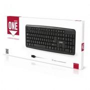 Клавиатура проводная Smartbuy ONE 112 USB черная (SBK-112UM-K)