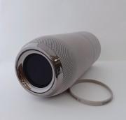 Блютуз-колонка E11, Micro SD+Micro USB+AUX+FM, серебряная JB