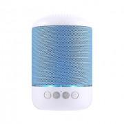 Блютуз-колонка TG115, Micro SD+USB+AUX+NFC+FM, синяя JB