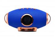Блютуз-колонка F2, Micro SD+Micro USB+AUX+FM+NFC, синяя JB