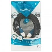Кабель Smartbuy HDMI to HDMI ver.1.4b  A-M/A-M, 5,0 m   (24K) в пакете (К351)