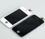 Дисплей iPh 5 в сборе с тачскрином и рамкой №4 (Kevin LT) High Quality, белый