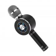 Микрофон-колонка WS-668 Bluetooth + FM + SD micro + USB + AUX, черный
