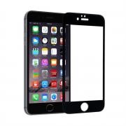 Защитное стекло Apple iPhone 6 Plus/6S Plus, черное, Mahaza 3D, 0.2mm  + защ.пленка на задн.панель