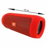 Блютуз-колонка Charge 2+, Micro SD+Micro USB+AUX+FM+NFC, красная JB