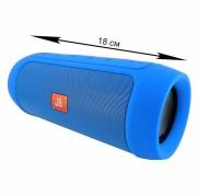 Блютуз-колонка Charge 2+, Micro SD+Micro USB+AUX+FM+NFC, синяя JB