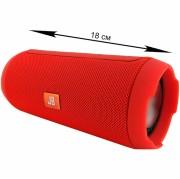 Блютуз-колонка JB Charge K3+ (J002), Micro SD+Micro USB+AUX+FM+NFC, красный