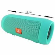 Блютуз-колонка JB MINI (J006), Micro SD+Micro USB+AUX+FM, зеленый
