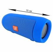 Блютуз-колонка MINI (J006), Micro SD+Micro USB+AUX+FM, синяя JB