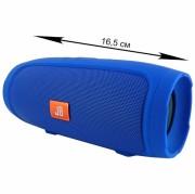 Блютуз-колонка MINI 3+ (J007), Micro SD+Micro USB+AUX+FM, синяя JB