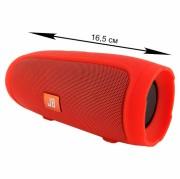 Блютуз-колонка JB MINI 3+ (J007), Micro SD+Micro USB+AUX+FM, красный