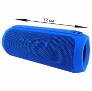 Блютуз-колонка FLIP 3 Micro USB+AUX, синяя, JB