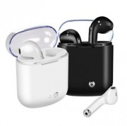 Гарнитура Bluetooth  Apple AirPods TWS (прозрачная крышка бокса)