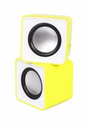 Акустическая система 2.0 SmartBuy® MINI, мощность 4Вт, USB, желтые(SBA-2820)