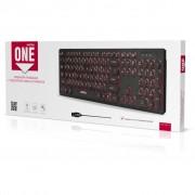 Клавиатура проводная с подсветкой Smartbuy ONE 328 USB черная (SBK-328U-K)
