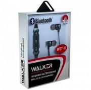 Наушники WALKER Bluetooth WBT-12, серый