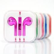 Наушники EarPods  iPhone 5  в боксе розовые