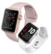 Часы Smart Apple Watch 40мм (точная копия) с пульсометром и GPS, розовые