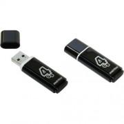 USB  4GB SmartBuy Glossy Series (SB4GBGS-K), черный