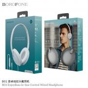 Наушники Borofone BO1 полноразмерные, белые