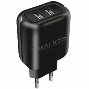 СЗУ USB 2A Walker WH-27 2 USB разъема (2,1А) блочок, черное