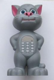 Аудио-колонка Говорящий кот Том FQ-Q10 FM, MP3 USB, диктофон