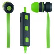 Perfeo наушники внутриканальные с микрофоном беспроводные SOUND STRIP зелёные/чёрные