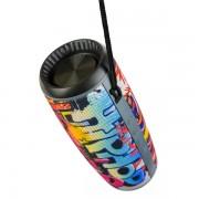 """Perfeo Bluetooth-колонка """"HIP HOP"""" FM, microSD, USB, AUX, мощн. 12Вт, 2600mAh (PF_A4336), граффити"""