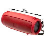Блютуз-колонка J11, Micro SD+USB+AUX+NFC+FM, красная JB