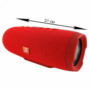 Блютуз-колонка JB CHARGE 3, Micro SD+Micro USB+AUX+FM, красный