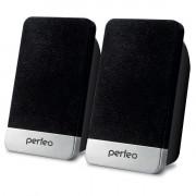 """Perfeo колонки """"MONITOR"""" 2.0, мощность 2х3 Вт (RMS), USB (PF_4830), чёрный"""