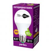 Perfeo светодиодная (LED) лампа PF-A60 7W 3000K E27