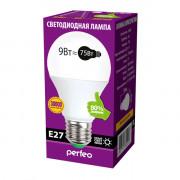 Perfeo светодиодная (LED) лампа PF-A60 9W 3000K E27