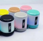 Блютуз-колонка TG156, Micro SD+USB+AUX+NFC+FM, розовая JB