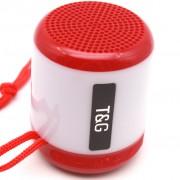 Блютуз-колонка TG156, Micro SD+USB+AUX+NFC+FM, красная JB
