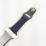 Ремешок для Apple Watch 38mm, с перфорацией, черный