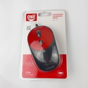 Мышь проводная Smartbuy ONE 382 черно-красная (SBM-382-R)