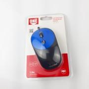 Мышь проводная Smartbuy ONE 382 черно-синяя (SBM-382-B)