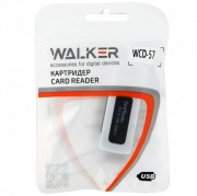 Картридер Walker WCD-57 (15в1 ) (micro CD,CD,MMC,M2,MS/MS duo)