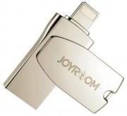 USB 16GB Smart Drive for iPhone 5/6/7 JR-U100, Joyroom серебро