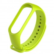 Ремешок для часов Xiaomi MI Band 4, Original Desing силиконовый, зеленый